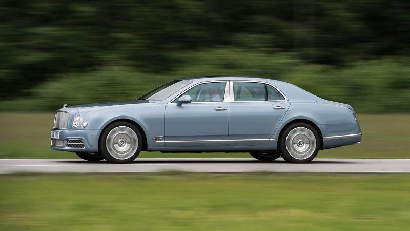 Обновленный 2018 Bentley Mulsanne