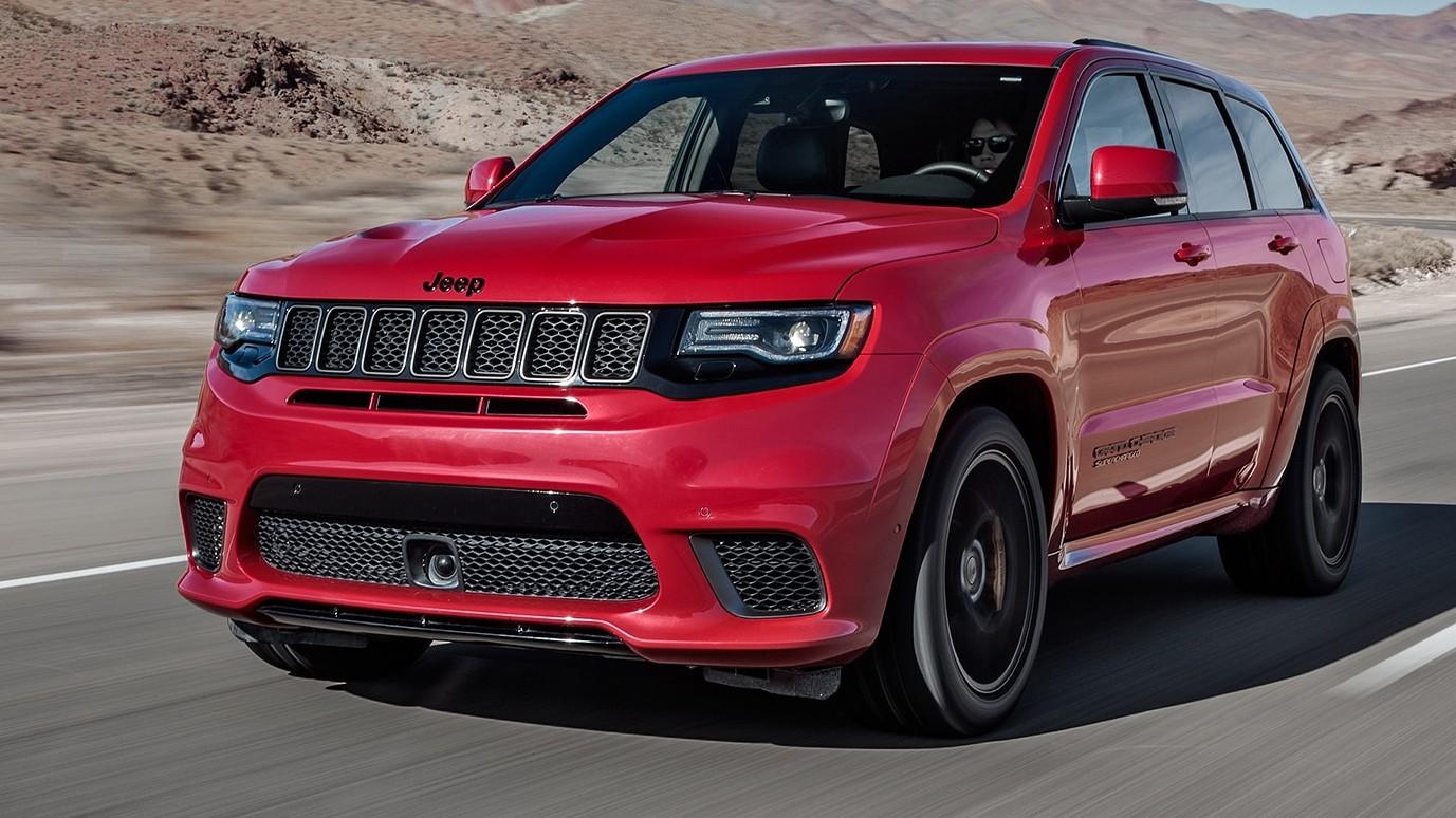 Новый 2018 Jeep Grand Cherokee Trackhawk