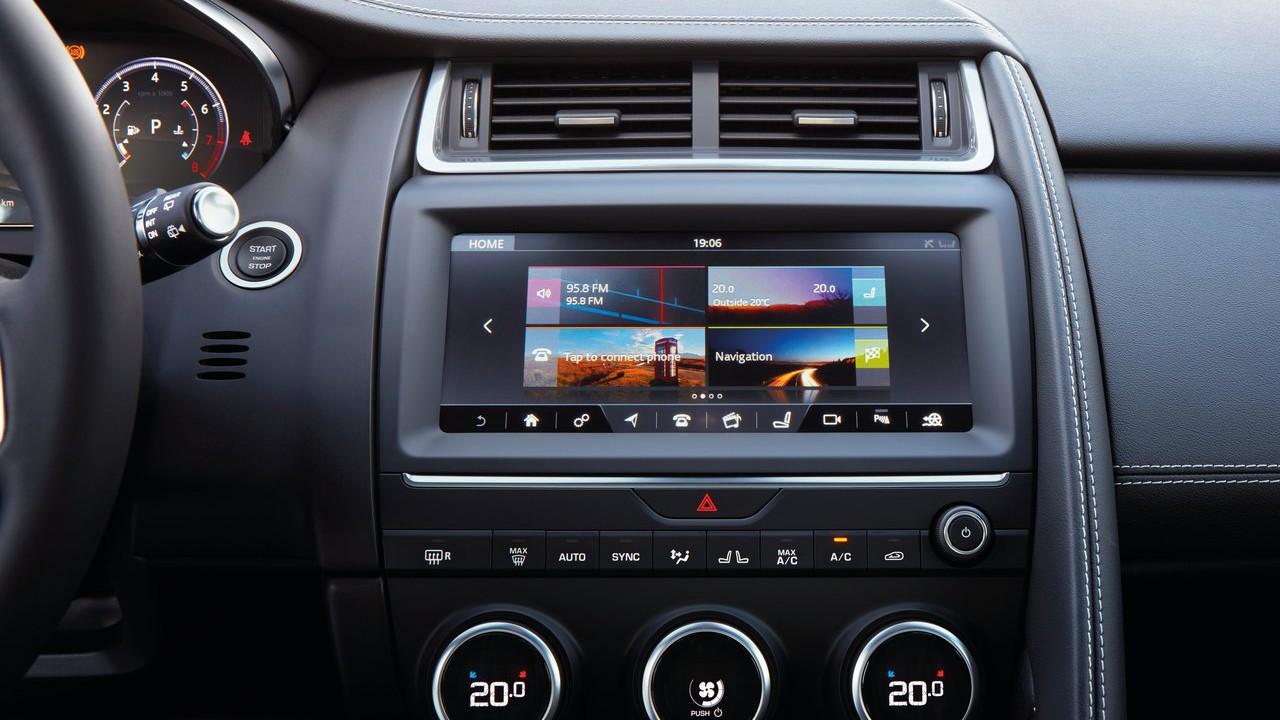 Новый внедорожник 2018 Jaguar E-Pace