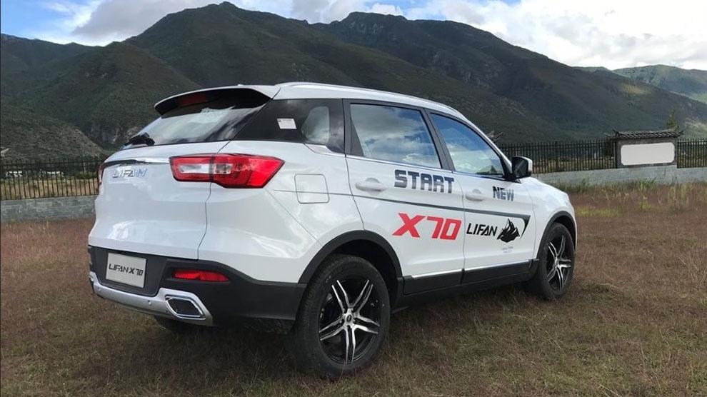 Новый китайский кроссовер - 2018 Lifan X70
