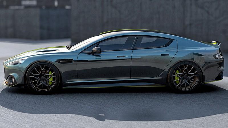 Компания Aston Martin запустила суббренд AMR - 2018 Aston Martin Rapide AMR