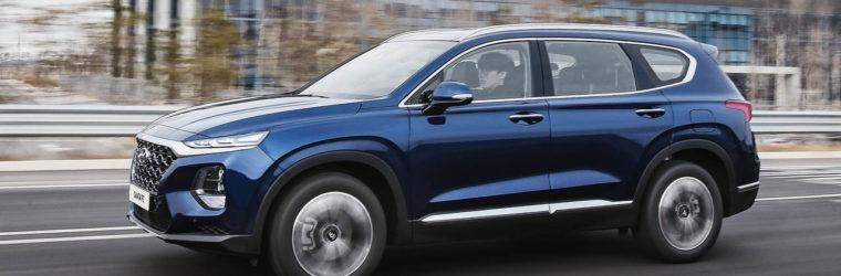 Hyundai представил 4-е поколение внедорожника 2019 Hyundai Santa Fe