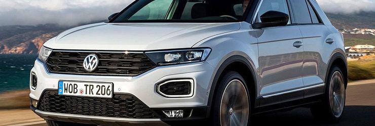 Volkswagen представила новый кроссовер - 2018 Volkswagen T-Roc