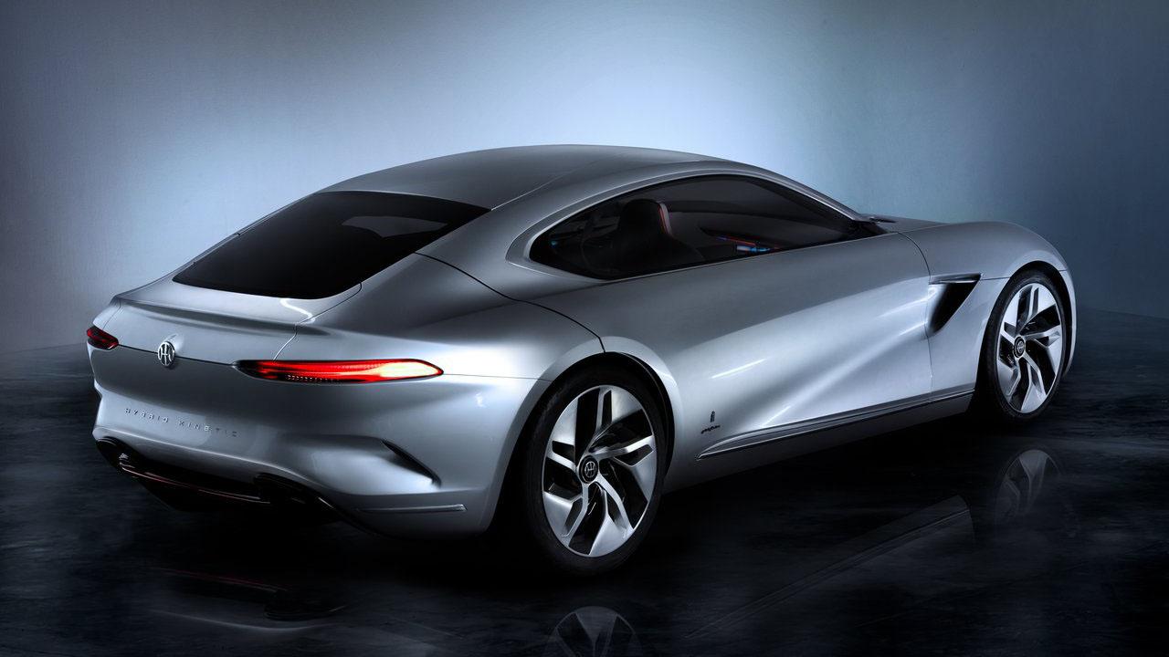 В Женеве представили новый концепт-кар 2018 Pininfarina HK GT Concept