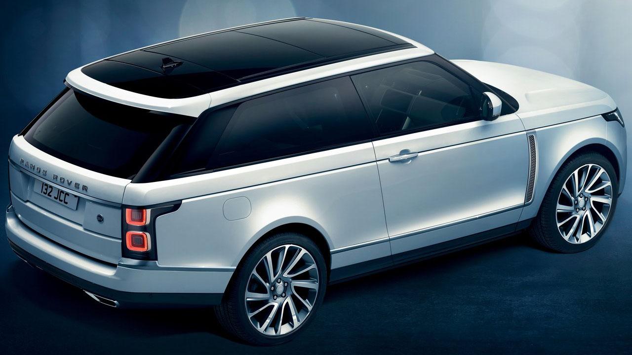 Land Rover представил новый трехдверный внедорожник 2019 Land Rover Range Rover SV Coupe