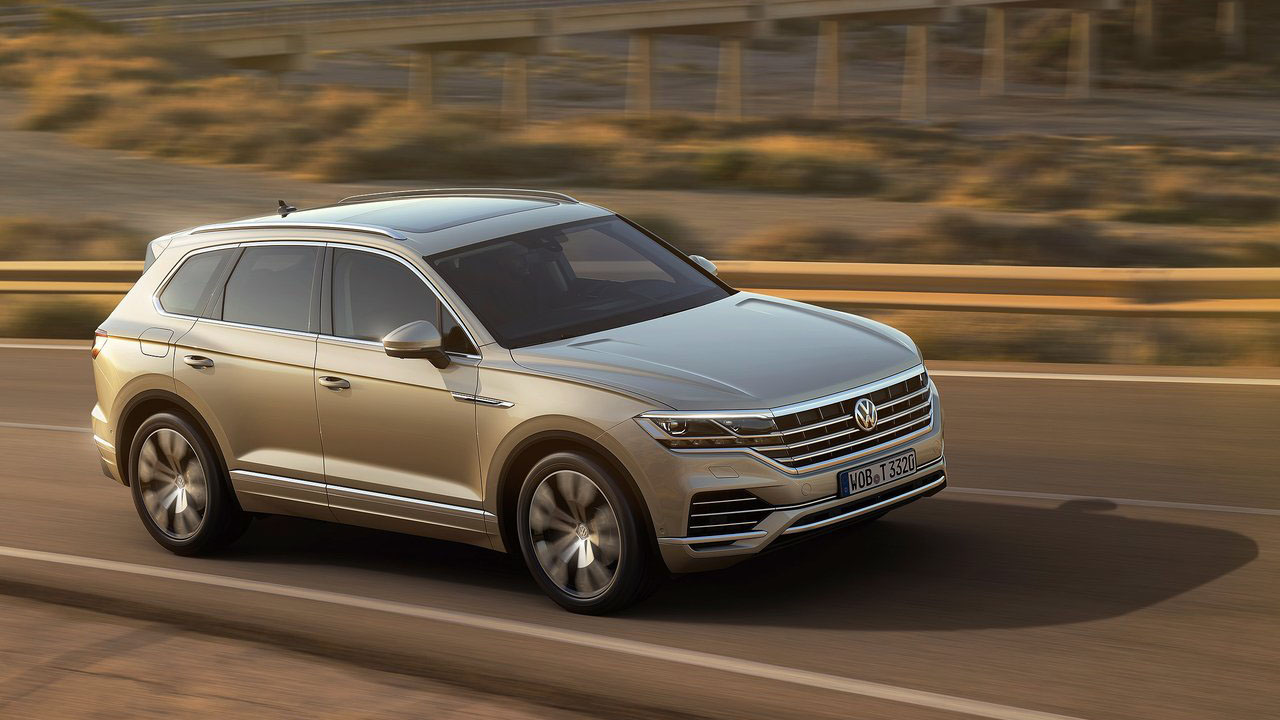 Новый кроссовер 2019 Volkswagen Touareg 3-го поколения