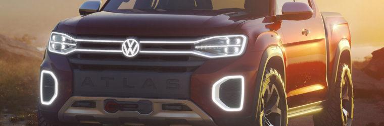 Volkswagen показал новый концепт пикап 2018 Volkswagen Atlas Tanoak Pickup Concept