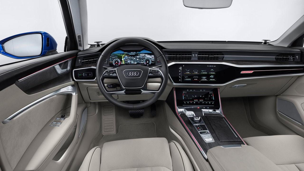 Универсал нового поколения 2018 Audi A6 Avant