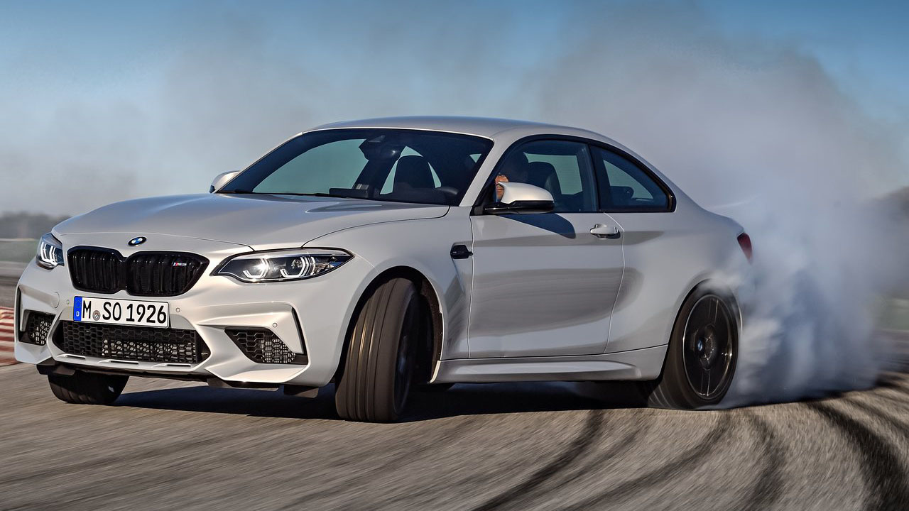 BMW показал новое купе 2019 BMW M2 Competition с 410-сильным мотором