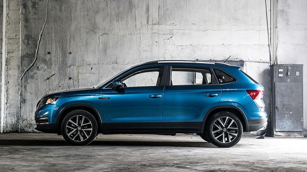 Новый бюджетный кроссовер 2019 Skoda Kamiq от компании Skoda Auto для китайского рынка