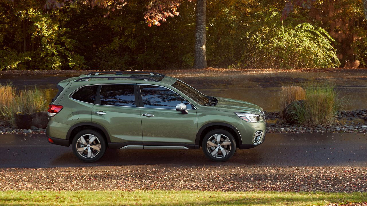 Subaru показал новый внедорожник 2019 Subaru Forester пятого поколения