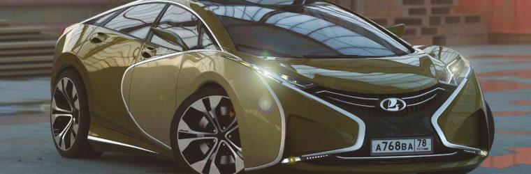 АвтоВАЗ показал проект нового автомобиля 2019-2020 Lada Questa / Лада Квеста