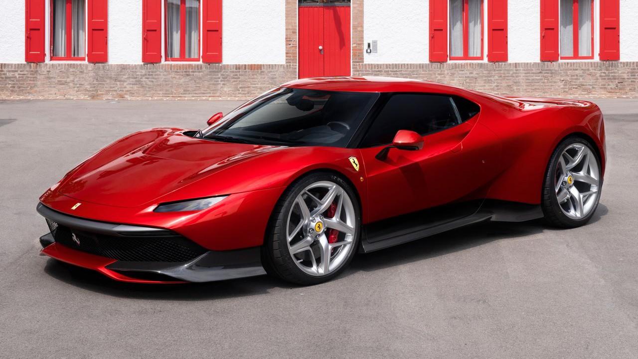 Ferrari показала свой новый уникальный гиперкар 2018 Ferrari SP38 купе под заказ