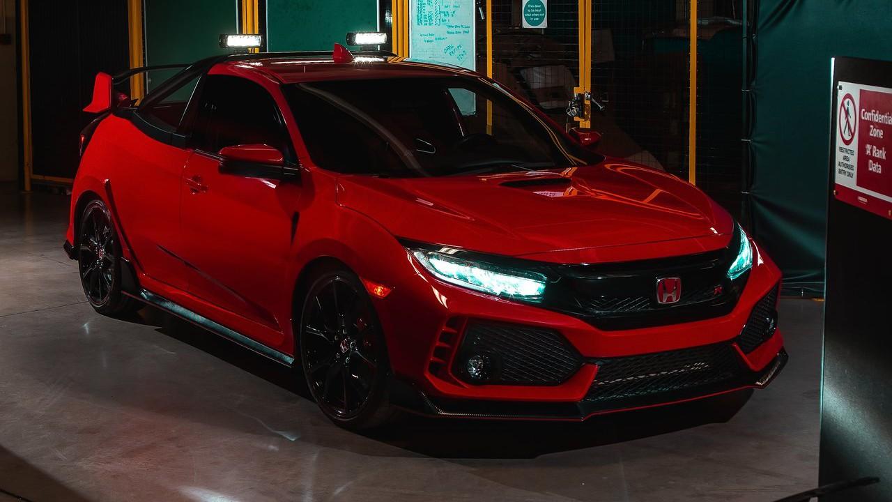 Компания Honda показала проект пикапа 2018 Honda Civic Type R
