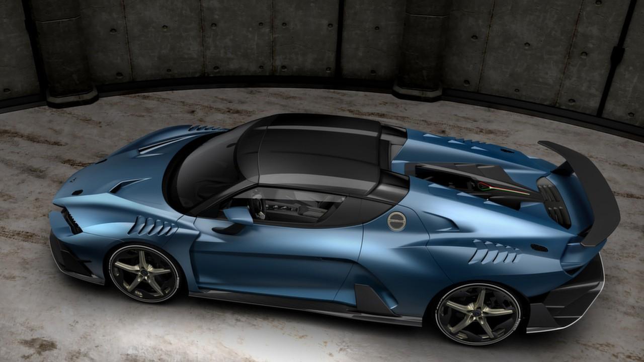 Новый 610-сильный суперкар 2018 Italdesign Zerouno Duerta