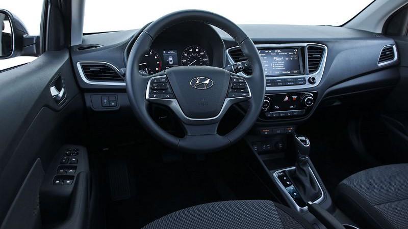 Новый рестайлинг корейского седана 2019 Hyundai Accent