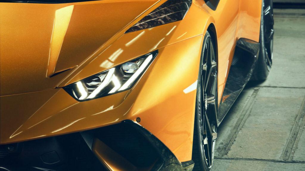 Новый суперкар 2018 Lamborghini Huracán Performante от тюнинг ателье Novitec Automobile GmbH