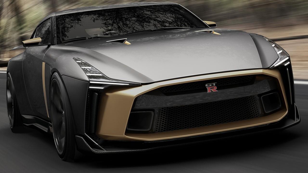 Italdesign и Nissan представили новый проект купе 2018 Nissan GT-R50 Concept