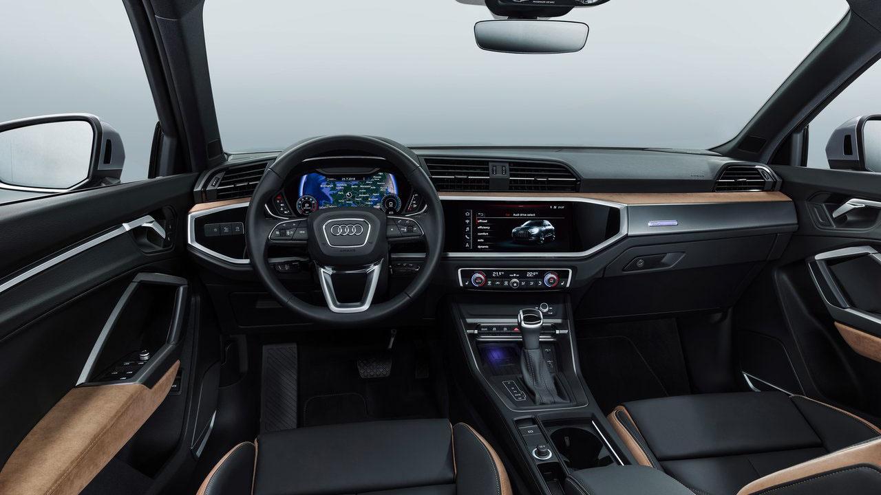 Новый компактный кроссовер 2019 Audi Q3 2-го поколения