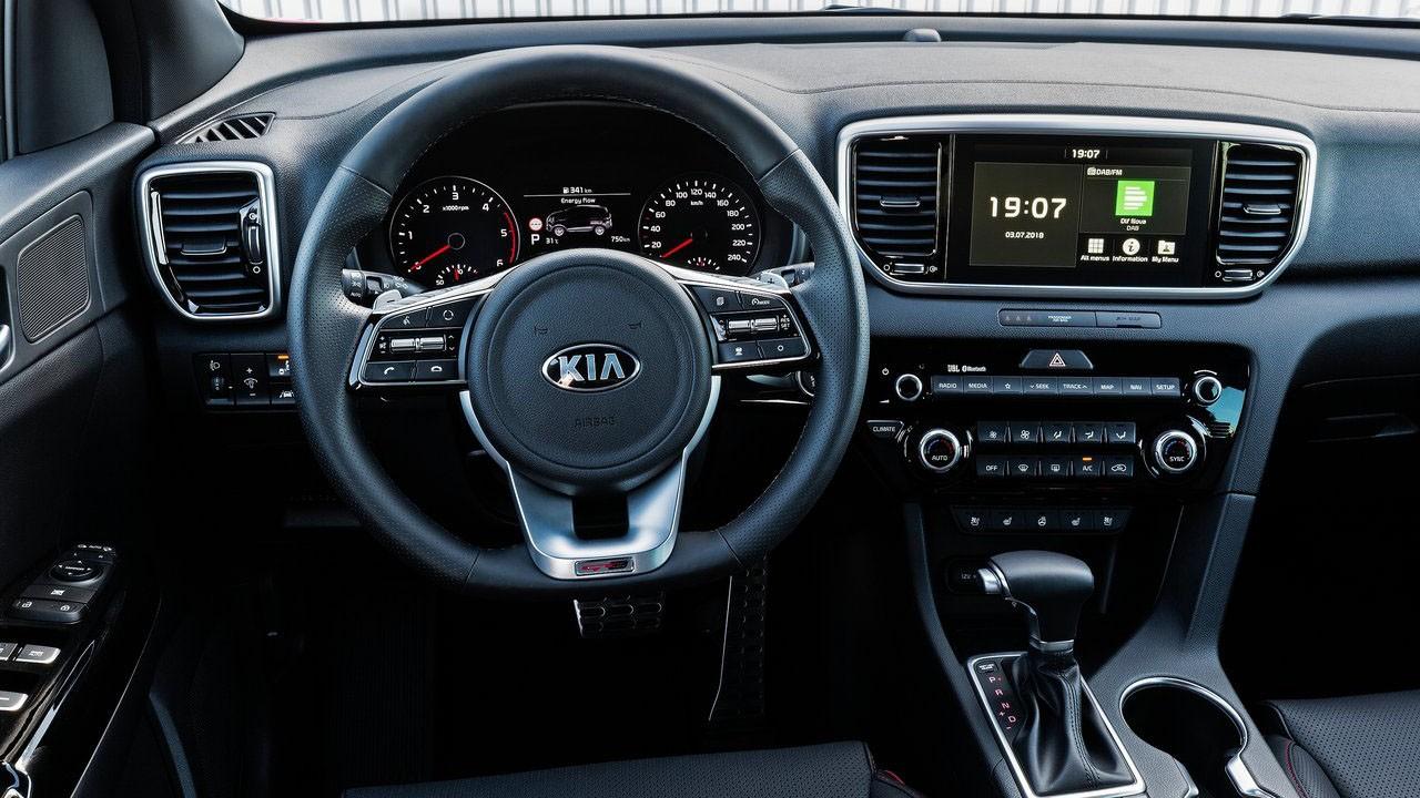 Kia Motors представила новый рестайлинг компактного кроссовера 2019 Kia Sportage