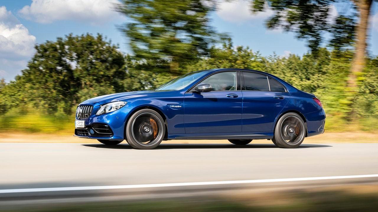 Mercedes представил новый седан 2019 Mercedes-Benz C63 S AMG Sedan