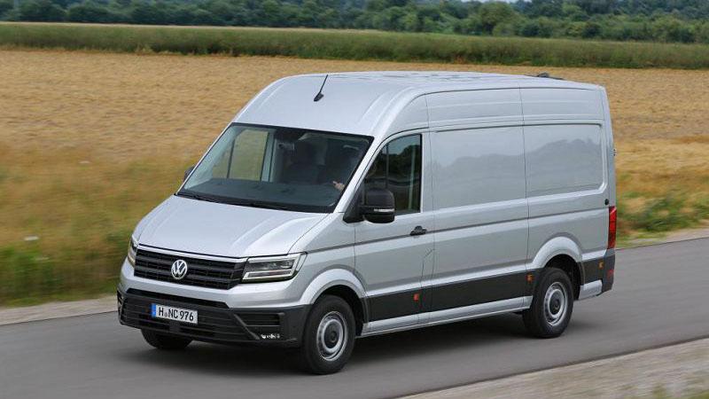 Volkswagen миру свой новый фургон 2019 Crafter