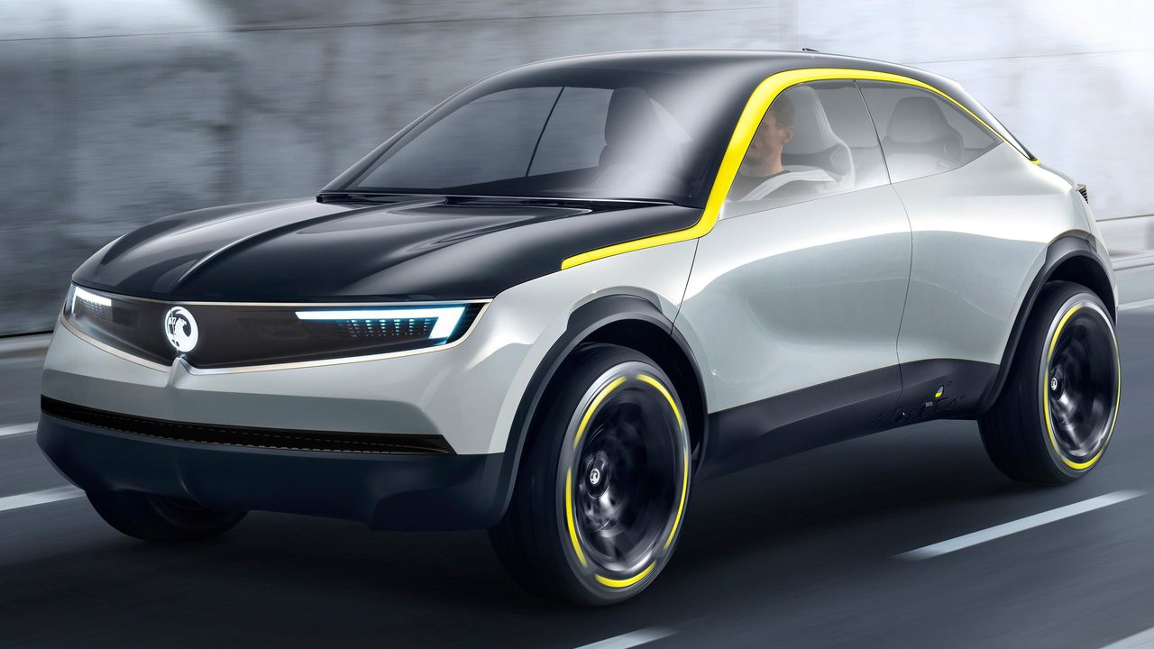 Vauxhall (Opel) представил свой новый прототип 2018 Vauxhall GT X Experimental Concept