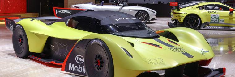 Aston Martin представил новый прототип суперкара 2018 Valkyrie AMR Pro (2018 Астон МартинВалкирия АМР Про)