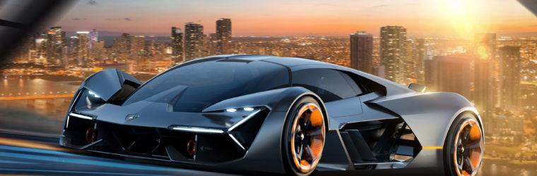 Lamborghini показала новый свой проект 2020 Lamborghini Terzo Millennio Concept