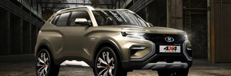 АвтоВАЗ на Московском автосалоне 2018 показал новый концепт 2018 Lada 4x4 Vision Concept