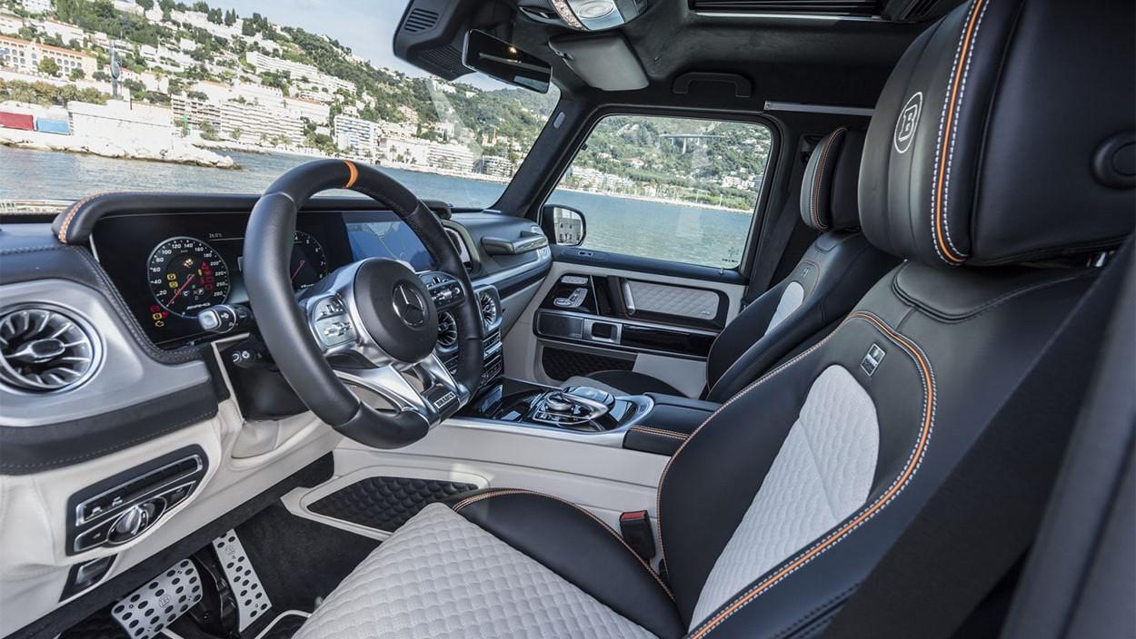 Brabus представил новый тюнинг 2019 Brabus 700 Widestar на базе Mercedes-AMG G 63