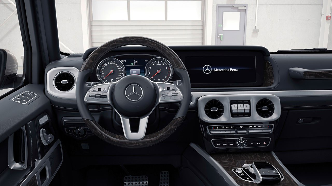 Mercedes показал обновленный Гелик - 2019 Mercedes-Benz G-Class