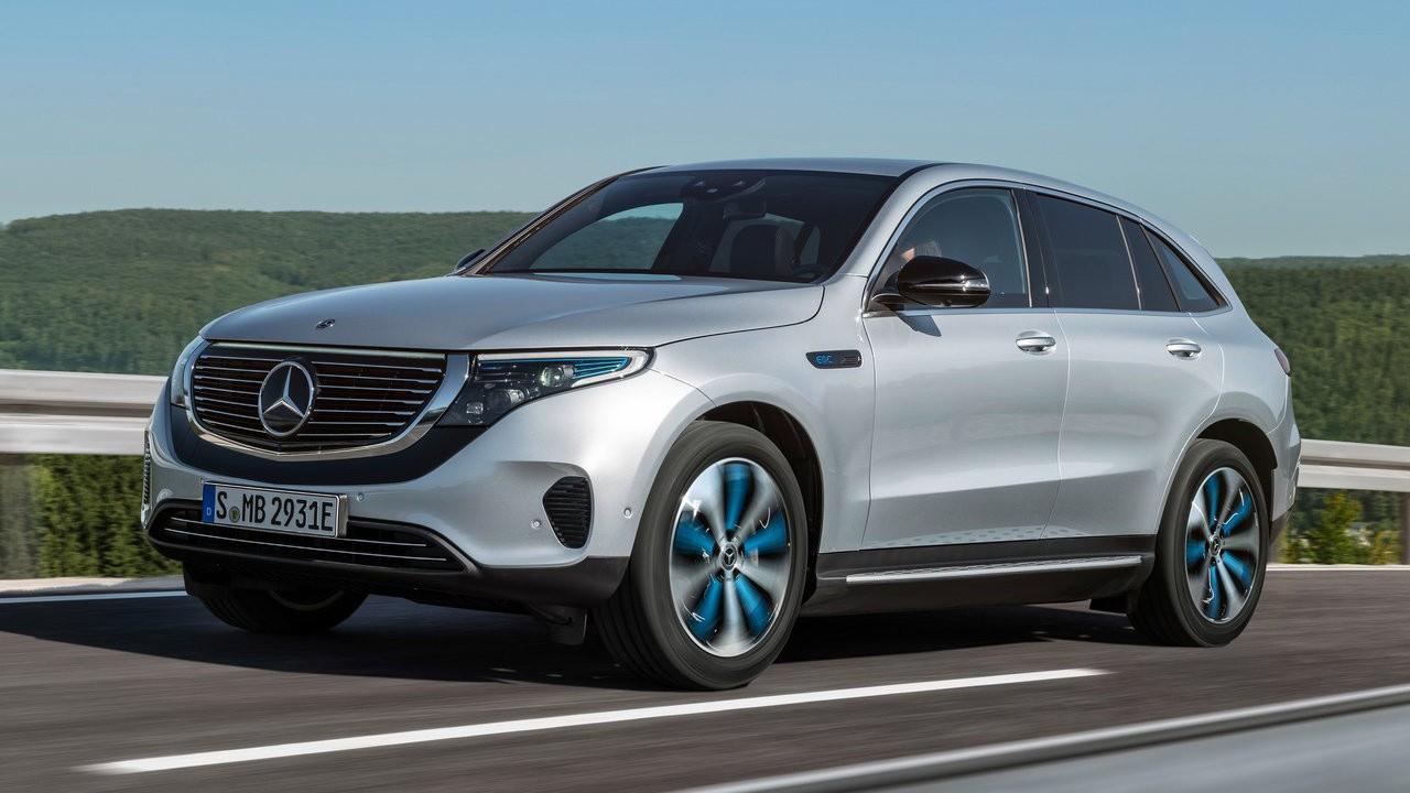 Новый электрический внедорожник от немецкой автомобильной компании 2020 Mercedes-Benz EQC