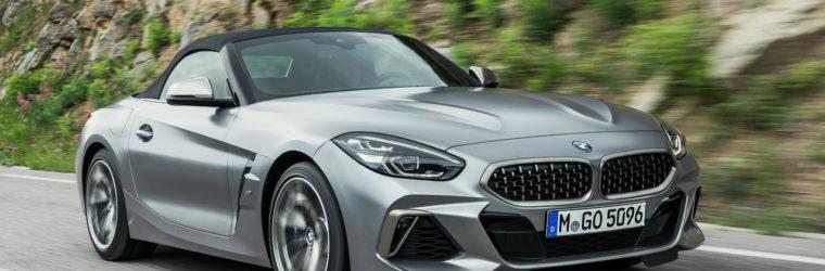 Немцы представили новый родстер 2019 BMW Z4 3-го поколения