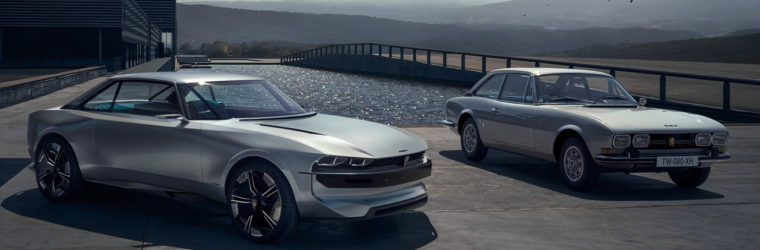 Новый французский электромобиль 2018-2019 Peugeot e-Legend Concept