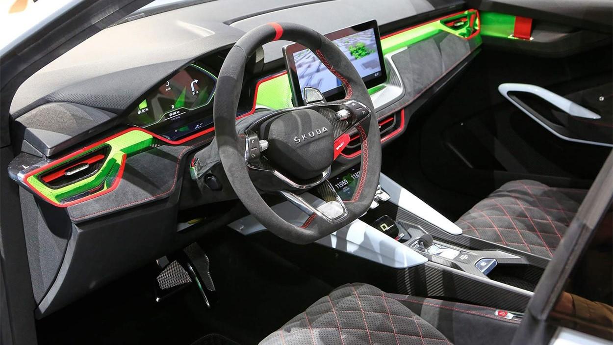 2018 Skoda Vision RS Concept (Шкода Визион РС)-новый Чешский хэтчбек