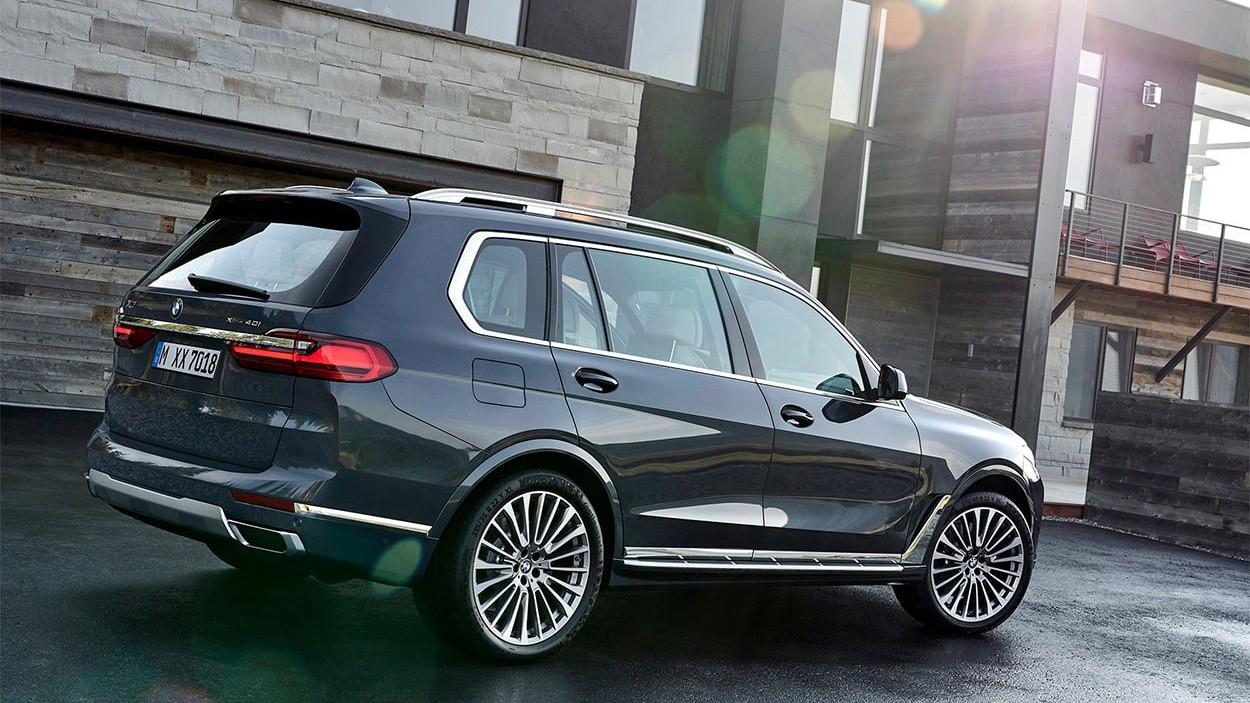 2019 BMW X7 экстерьер