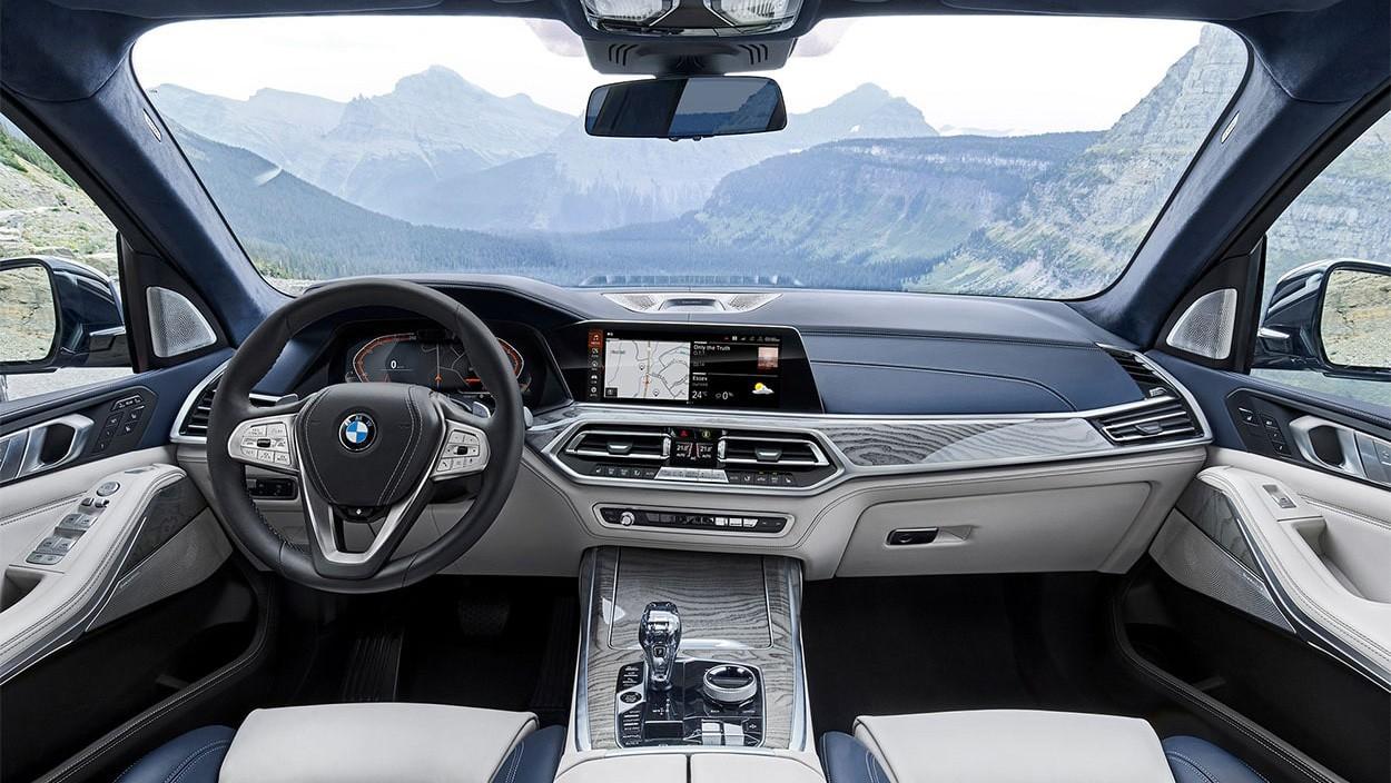 2019 BMW X7 интерьер