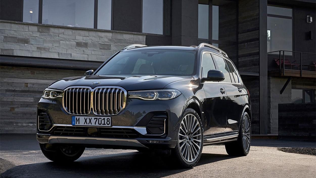 2019 BMW X7 внешний вид