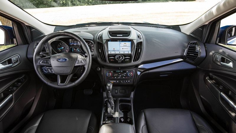 2019 Ford Escape интерьер