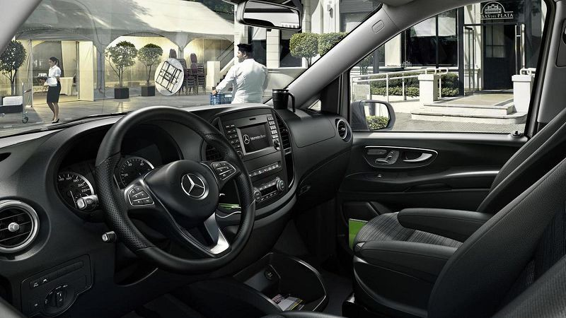 Mercedes-Benz Vito 2019 inter'er, salon
