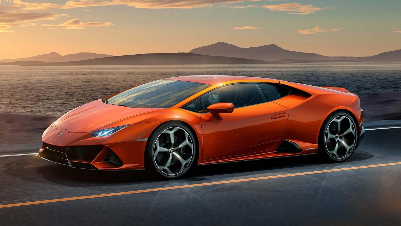 Lamborghini Huracan Evo 2019 jekster'er, vneshnij vid, foto