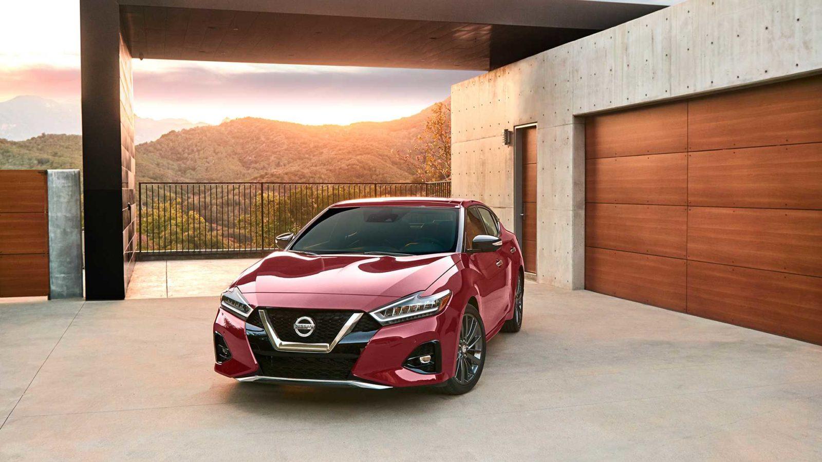 Nissan Maxima 2019 vneshnij vid, foto