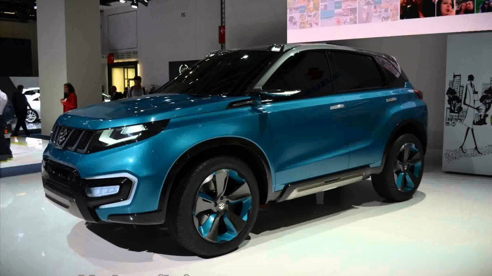 Suzuki Grand Vitara 2020 foto, jekster'er, vneshnij vid, vid sboku, obzor, cena, data vyhoda — video