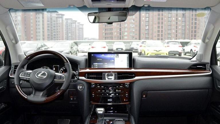 Lexus LX 2020 foto, inter'er, salon, obzor, tehnicheskie harakteristiki, cena, data vyhoda — video