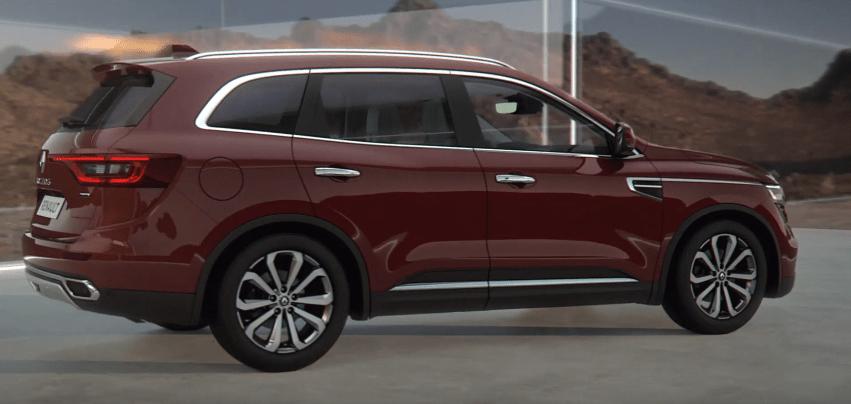 Renault Koleos 2020 foto, jekster'er, vid sboku, tehnicheskie harakteristiki, cena, data vyhoda — video