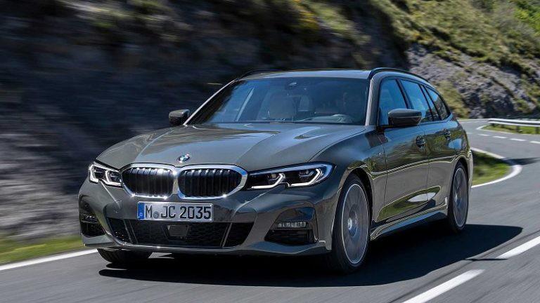 2020 BMV 3-j serii universal (BMW 3-Series Touring) foto, jekster'er, vid speredi, cena, data vyhoda — video