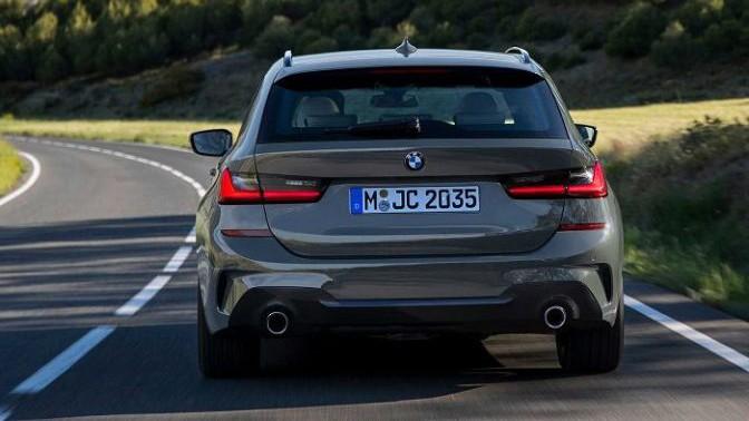 2020 BMV 3-j serii universal (BMW 3-Series Touring) foto, jekster'er, vid szadi, cena, data vyhoda — video