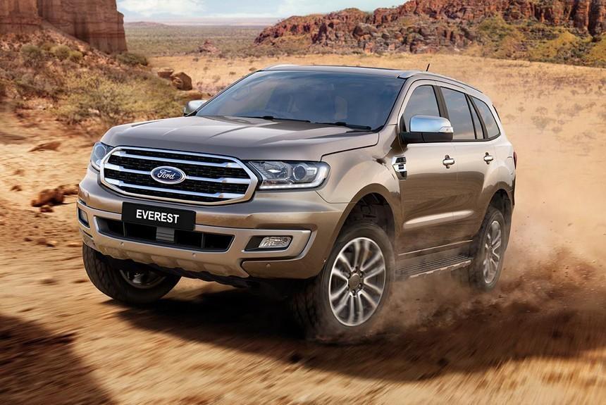 2019 Ford Everest: foto, tehnicheskie harakteristiki, cena