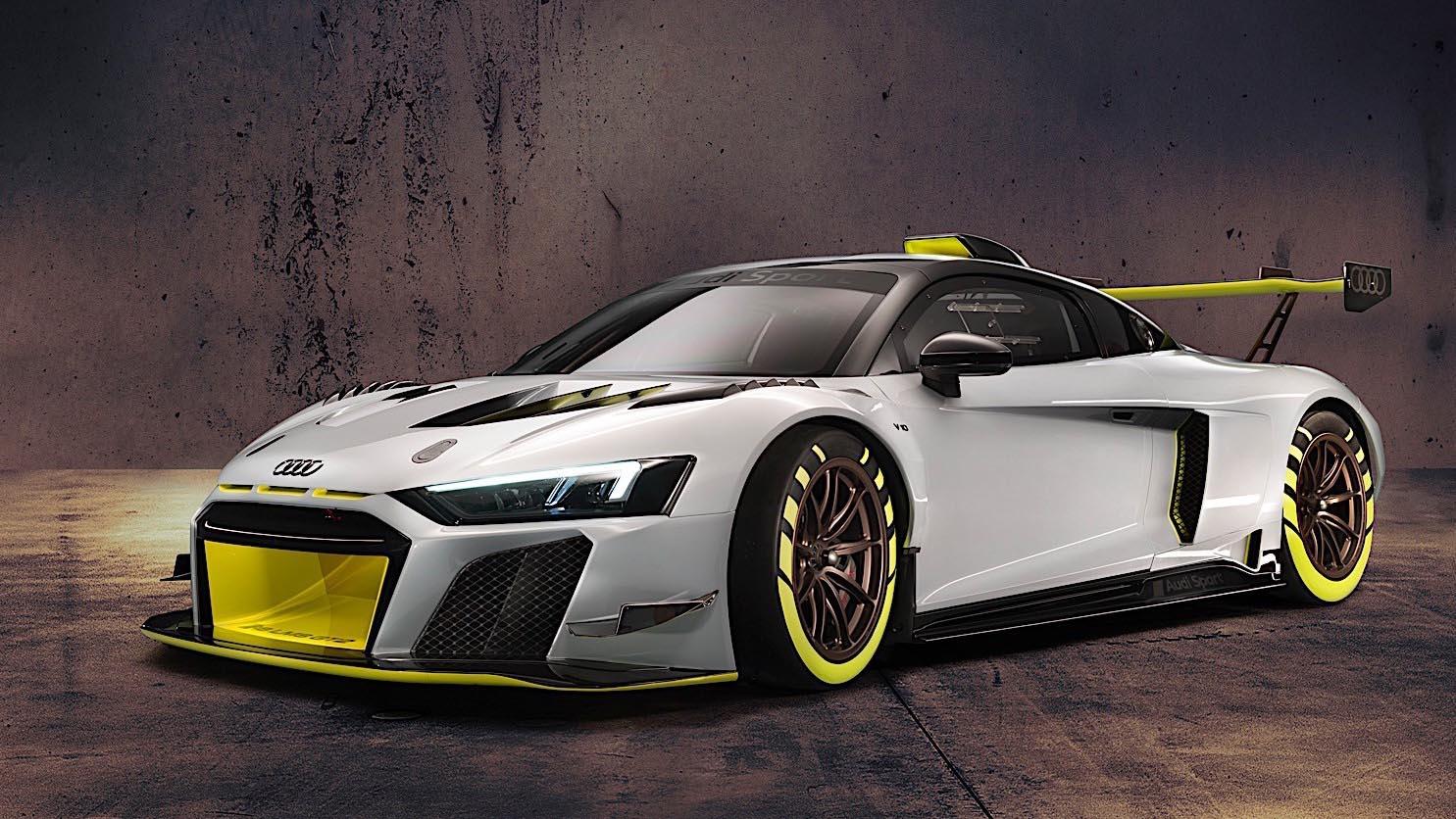 2020 Audi R8 LMS GT2 вид спереди